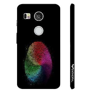 Google Nexus 5X White Cheetah designer mobile hard shell case by Enthopia