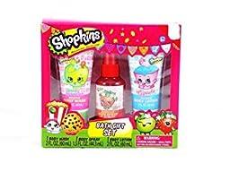 Shopkins Cupcake Strawberry Apple Blossom Bath Gift Set