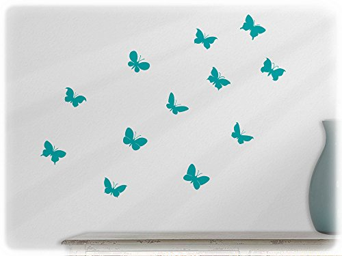 wallfactory-wall-decal-12-practical-butterflies-s12-in-turquoise