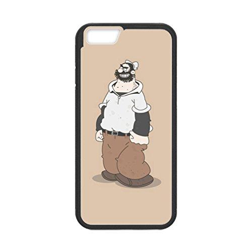 Libby Baldwin New fashion custom Popeye the Sailor Man Cartoons hight quality Laser Technology TPU & Plastic iPhone 6s 4.7