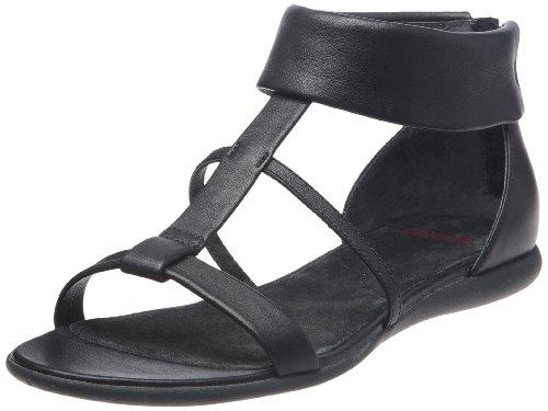 Camper Women's Plie 21558 Pasan Negro Ankle Strap 21558-001 3 UK, 36 EU
