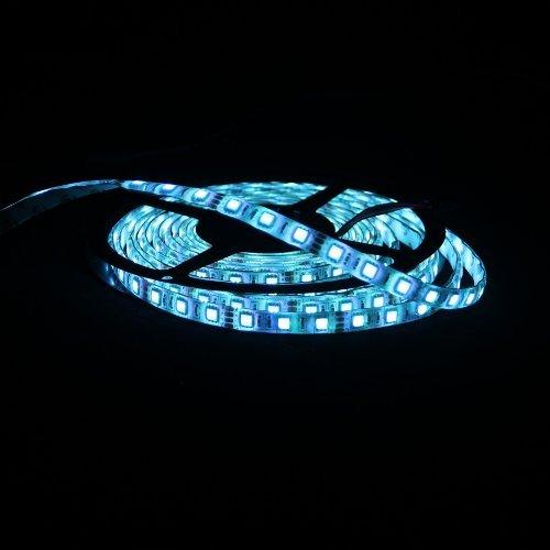 Hossen® Waterproof 5050 5M Smd 300-Led Light Blue Flexible Ip65 Led Strip Lights