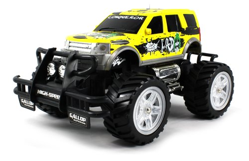 Super Thunder Ford Explorer Sport Electric Rc Truck Big 1:16 Scale Off Road Ready To Run Rtr, Working Spring Suspension And Led Head And Tail Lights (Colors May Vary)