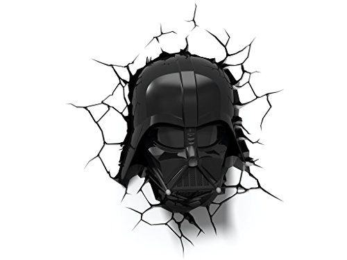 3D Light FX Star Wars Darth Vader 3D Deco LED Wall Light