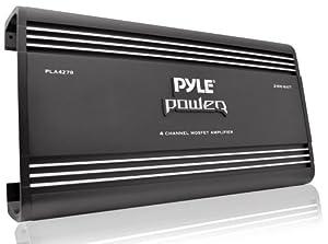 Pyle PLA2378 2-Channel 2,000-Watt Bridgeable Mosfet Amplifier