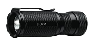 NovaTac Storm LED Flashlight, Black