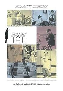 JACQUES TATI Collection Coffret 4 DVD Jour De Fête - Mon Oncle - Playtime - Les Vacances De Monsieur Hulot