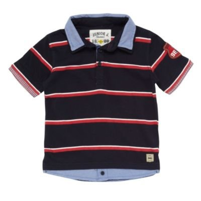 J by Jasper Conran-Boy's navy polo shirt-age 2-3