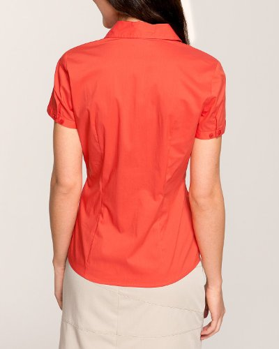 Comma Damen Bluse Regular Fit