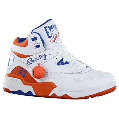 Ewing Athletics Ewing Guard White Basketball Schuhe Shoes Herren Men(EU 42,White)