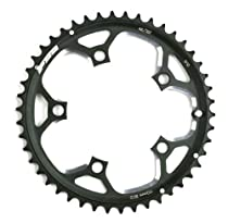 FSA Road Alloy 46 -Tooth/10-Speed Chainring (110mm, Black)