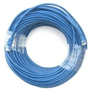 100-Feet Red CAT5RD-100 Professional Cable Category 5E Ethernet Network Patch Cable with Molded Snagless Boot