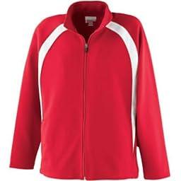 Girl\'s Double Knit Jacket from Augusta Sportswear