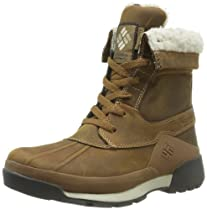 Columbia Bugaboot Ladies Original, Tall, Omni-Heat beige/brown (Size: 37) winter shoes