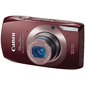 Canon PowerShot ELPH 500 HS 12.1 MP CMOS Digital Camera with Full HD Video and Ultra Wide Angle Lens ($179.95)