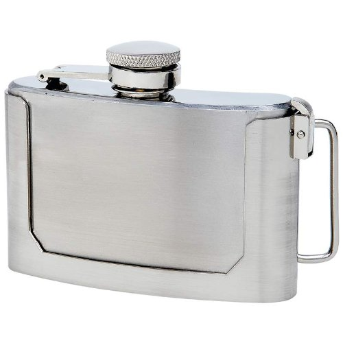 Standout Flasks Exclusive Drinkware Ss Flask Belt Buckle Incomparable
