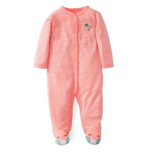 Carters Girls 0-9 Months Bird Sleep 'N Play Color: Orange Size: NB NewBorn, Kid, Child, Childern, Infant, Baby - 1
