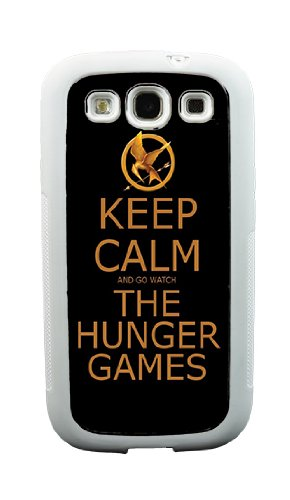 Keep Calm Hunger Games Galaxy S3 Case - Samsung Galaxy S3 Case