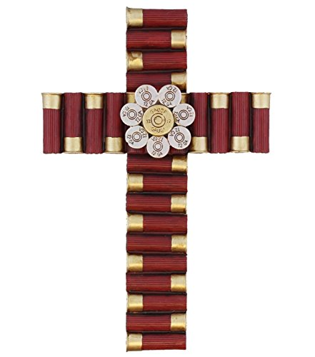Montana West Wall Cross with Shotgun Shells 12