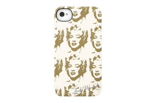 INCASE(インケース)ANDY WARHOL SNAP CASE for iPhone4S (Marilyn Reversal Cream(CL59927))