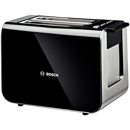 Bosch TAT8613 Styline 2 Slice Toaster, Black
