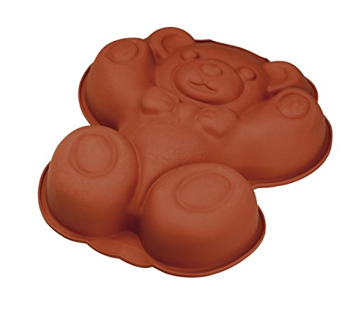 Bakeware Teddy bear 100% silicone 27x20cm 5.5cm H Guaranteed quality