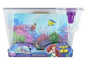The Little Mermaid Disney Big Eye Fish Aquarium Fish Tank: Amazon.co ...