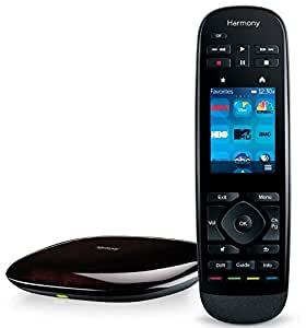 Logitech Harmony Ultimate Remote with Customizable Touch Screen and Closed Cabinet RF Control - Black (915-000201)