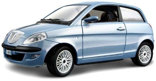 bburago-2011-bijoux-124-scale-metallic-blue-lancia-nuova-ypsilon-2003