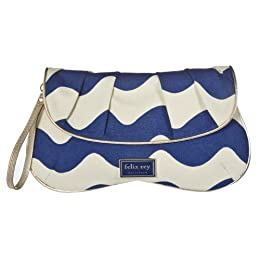 Felix Rey for Target® Canvas Clutch - Blue : Target from target.com