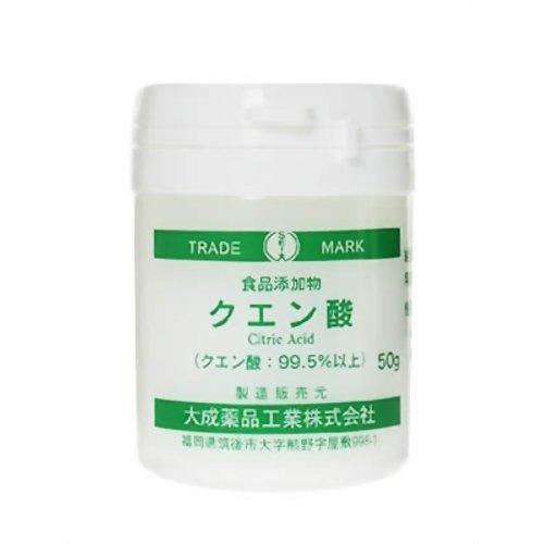 大成薬品 クエン酸 50g