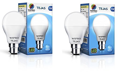 Wipro-Tejas-5W-LED-Bulb-(White,-Pack-of-2)