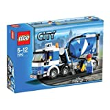 LEGO City 7990: Concrete Mixer   Mixer LEGO Concrete city 7990