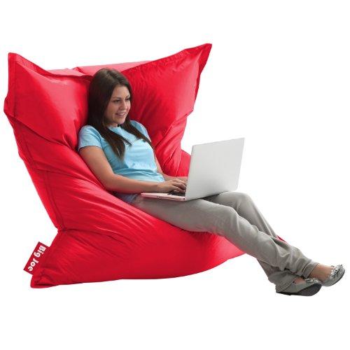 Big Joe Original Bean Bag Chair, Flaming Red front-504414