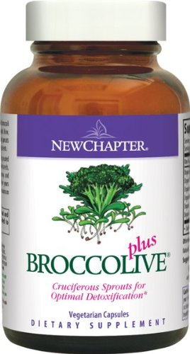 New Chapter Organics Broccolive Plus, 90 Capsules
