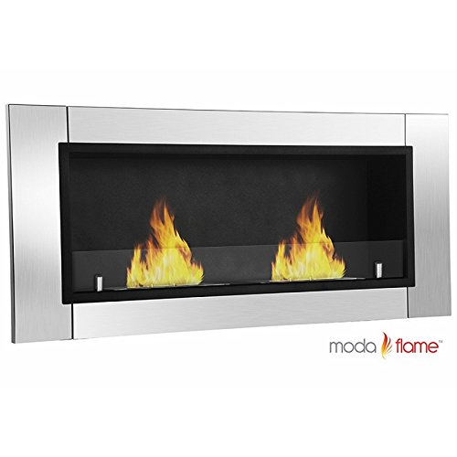 Moda Enthusiasm Valencia PRO Wall Mounted Ethanol Fireplace