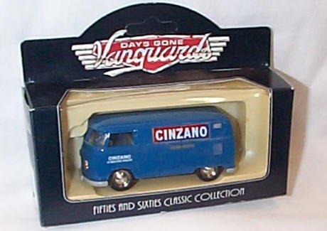lledo-days-gone-vanguards-blue-kombi-vw-cinzano-vermouth-1955-van-model
