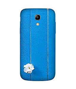 White And Blue Samsung Galaxy S4 Mini Case