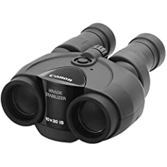 Canon 10x30 IS Ultra-Compact Binoculars (Black) by Canon