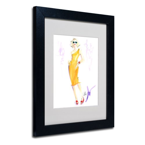 trademark-fine-art-sunny-delight-artwork-by-jennifer-lilya-black-frame
