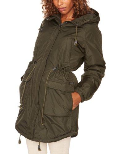 Kuyichi Kayla Solid Parka 2 Women's Jacket Dark Green X-Small