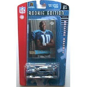 Tennessee Titans 2006 UD Vince Young Rookie Edition NFL Diecast Mustang GT with Upper Deck V. Young Rookie Card - 1