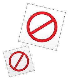 PECS Universal NO Symbols for Picture Exchange Communication Programs
