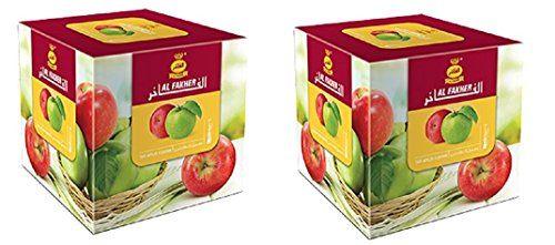 Al Fakher Double Apple 250g ...2 PACK (Al Fakher Tobacco Grape compare prices)