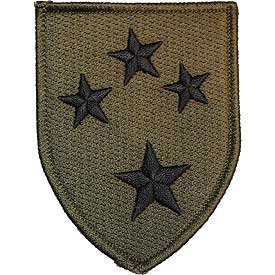 US Army Iron On Patch - Infantry Divisions - 23rd Infantry Americal Division Logo