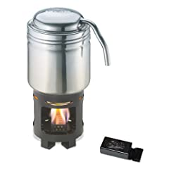 Esbit Stainless Steel Coffee Maker for Use with Solid Fuel Tablets by Esbit