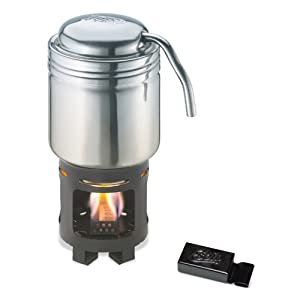 Amazon.com: Esbit Stainless Steel Coffee Maker for Use with Solid Fuel Tablets