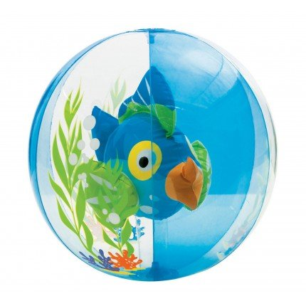Aquarium 3D Beach Ball - Blue