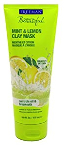Freeman Mint & Lemon Facial Clay Mask 6 fl oz (150 ml)