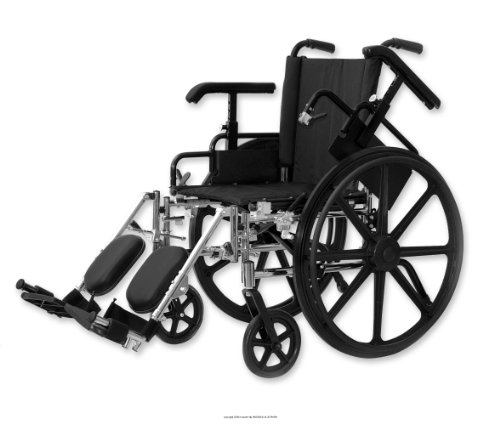 High Performance Lightweight Wheelchairs [Whlchr Hp Ltwt W-Swg Awy 18 In] (Ea-1)